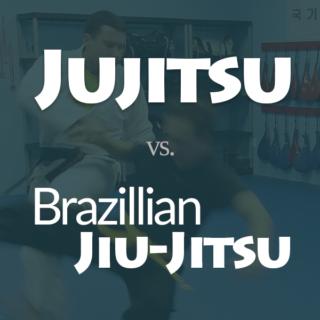 Jujitsu vs Brazilian Jiu-jitsu