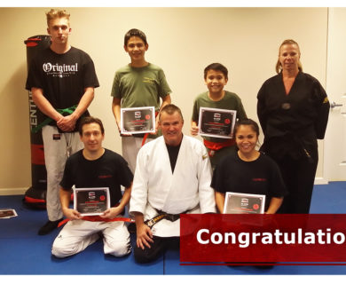 Promotions to Orange Belt