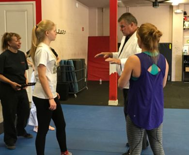 Women's Self Defense Classes at Shapes